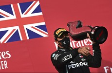 Lewis Hamilton closes in on record-equalling seventh world title with Imola win