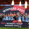 Joy for Irish international Campbell as Manchester City retain FA Cup crown