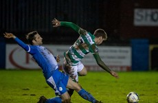 Champions Shamrock Rovers dent Finn Harps' survival hopes in Ballybofey