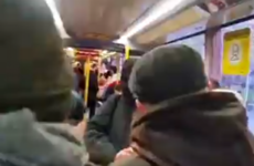 Gardaí launch investigation after anti-mask protesters filmed berating Luas passengers
