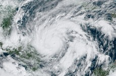 Hurricane Eta slams into Nicaragua as Category 4 storm