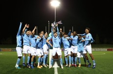 Ireland underage midfielder Hodge wins FA Youth Cup with Man City