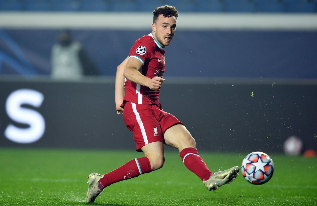 jota hat trick helps five star liverpool to maintain winning champions league form maintain winning champions league form