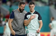 Important run ahead for Ireland as Farrell and Sexton look to learn from Paris