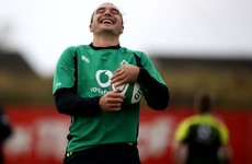 'He could be incredible at this level' - Ireland excited about James Lowe's debut