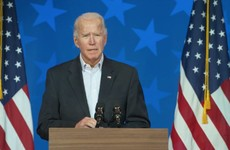 Biden urges Americans to 'stay calm' and says he has 'no doubt' he will be declared winner