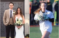 Wedding joy and a big championship win make for the perfect weekend in white