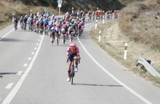Nielsen takes Vuelta's 16th stage, Martin remains fourth overall