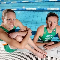 Last stop for Irish triathletes before London Olympics