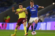 Burnley still winless after dreary Brighton draw