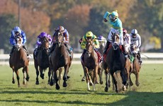 Fire At Will powers past O'Brien's Battleground to shoot down European hopes on Day 1 of Breeder's Cup