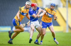 14-man Clare hold out to secure one-point victory over Laois as Kelly fires 0-13