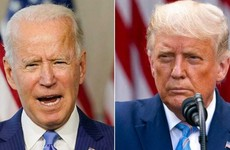 How Biden and Trump reacted to news of the presidential result