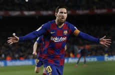 Lionel Messi boosts Barcelona with brace from the bench