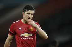 'People don't want us to do well' - Maguire bites back at Man United critics