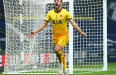 Doherty sets up dramatic Kane winner against West Brom