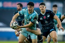 Leinster weather early Ospreys storm to maintain perfect record