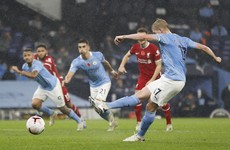 Penalty miss proves costly, as Man City held by Liverpool