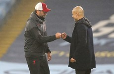 Guardiola, Klopp unite against controversial substitution rule