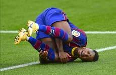 18-year-old Barcelona star set to be ruled out for four months