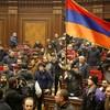 Armenia and Azerbaijan agree to end fighting over the Nagorno-Karabakh region