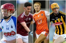 The 18 senior matches on the agenda this weekend with 2020 championship silverware on offer