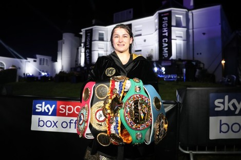 Taylor defends her lightweight crown against Gutierrez in London on Saturday.