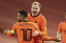 Manchester United's Donny van de Beek earns the Dutch a draw against Spain