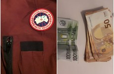 Designer clothes, €5,800 in cash and documents seized in Carlow and Dublin