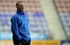 John Sheridan leaves Wigan to become new manager of Swindon Town