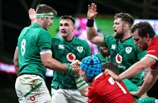 Farrell hails 'dominant' Irish win but injuries a concern for Twickenham trip