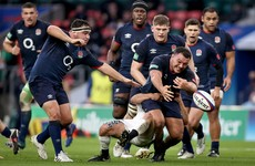 England warm-up for visit of Farrell's Ireland with six-try win over Georgia