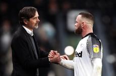 Wayne Rooney to prepare Derby's next match after Phillip Cocu departure