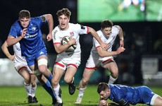 20-year-old wing Ethan McIlroy gets first Ulster start for visit to Zebre