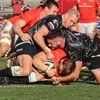 Coombes the hat-trick hero as unbeaten Munster make it five wins from five