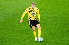 Haaland's Dortmund set to defy Norway isolation order