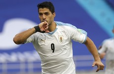 Suarez 'in good health,' but will miss qualifier against Brazil due to Covid