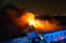 Dublin Fire Brigade evacuates buildings as it battles large fire at industrial estate