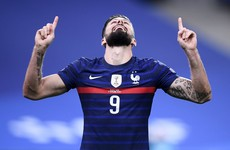 Giroud edges closer to Henry's record as France come from behind to beat Sweden