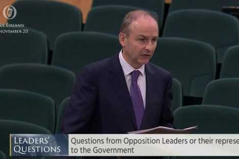 The Taoiseach said Justice Minister Helen McEntee should not have to answer questions on the appointment of Seamus Woulfe to the Supreme Court.