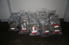 Cannabis worth an estimated €620,000 has been seized in Meath