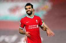 Salah returns another positive test ahead of Liverpool's top-of-the-table clash
