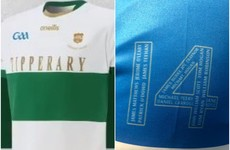 Here are the jerseys Dublin and Tipperary will wear to mark Bloody Sunday centenary