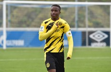 15-year-old Dortmund player on verge of making Bundesliga history