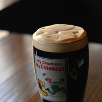 Celebrate the Olympics! Enjoy a traditional British drink of... Guinness