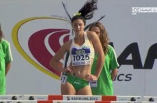 Video of this Australian hurdler's pre-race warm-up dance is going viral