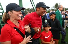 Tiger and Charlie Woods to take on Pádraig and Paddy Harrington at PNC Championship