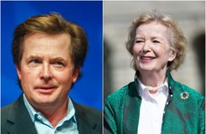 Sofa Watch: Ryan catches up with Mary Robinson and Michael J Fox