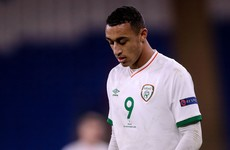Ireland striker ruled out for 10 weeks after suffering injury against Wales