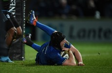 Ryan Baird's comeback continues as Leinster hand him Cardiff start